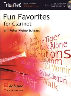 Fun Favorites Trio Flex Partition Clarinette - laflutedepan