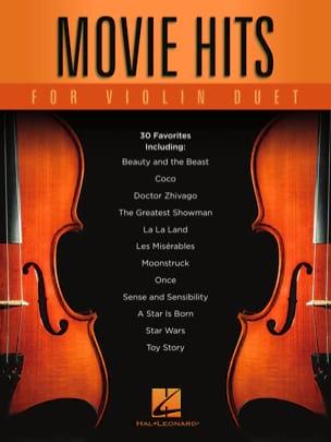 Movie Hits for Violin Duet Partition Violon - laflutedepan