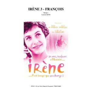 Laurent Aknin - IRÈNE 3 - FRANÇOIS - Partition - di-arezzo.com