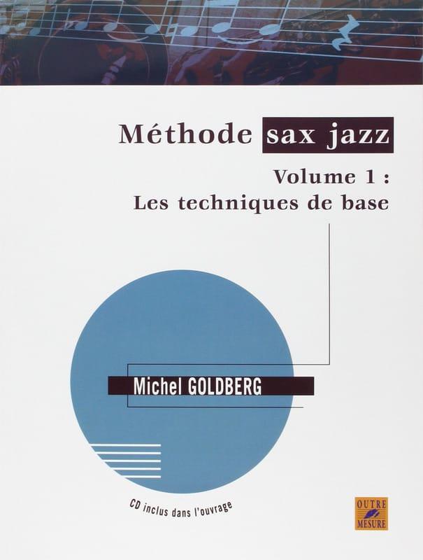 Méthode sax jazz volume 1 - Michel Goldberg - laflutedepan.be