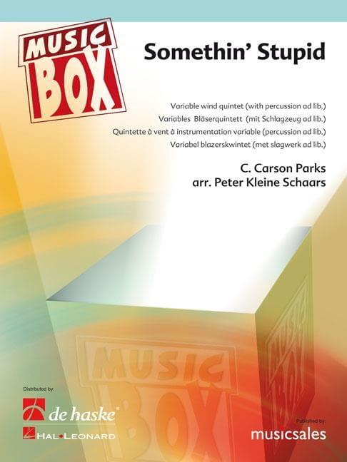 Somethin' stupid - music box - C. Carson Parks - laflutedepan.com