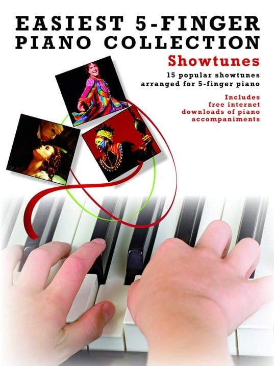 Easiest 5-Finger Piano Collection - Showtunes - laflutedepan.com