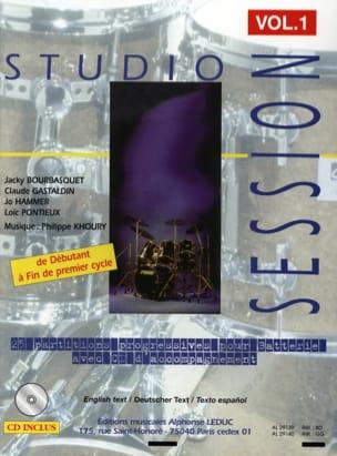Studio Session Volume 1 Partition Batterie - laflutedepan