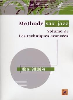 Méthode sax jazz volume 2 Michel Goldberg Partition laflutedepan