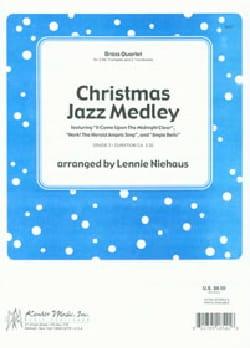 Christmas Jazz Medley Partition Saxophone - laflutedepan