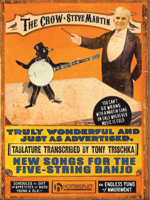 The Crow - New Songs For The Five-String Banjo laflutedepan