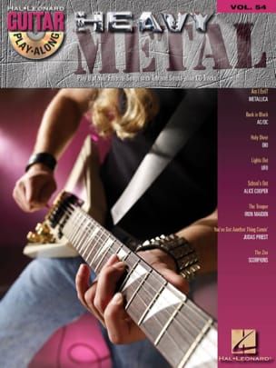 Guitar Play-Along Volume 54 - Heavy Metal Partition laflutedepan