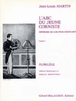 L' ABC du Jeune Corniste Volume 1 Jean-Louis Martin laflutedepan