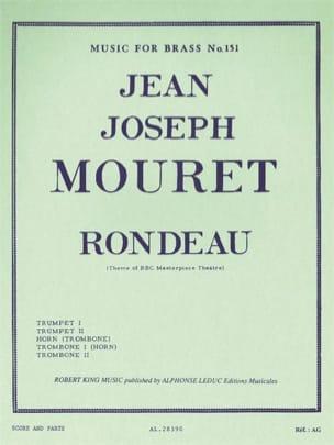 Rondeau Jean Joseph Mouret Partition laflutedepan