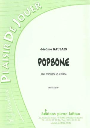 Popbone Jérôme Naulais Partition Trombone - laflutedepan