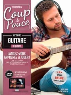 Méthode Guitare Folk Débutant COUP DE POUCE Partition laflutedepan
