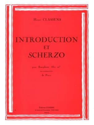 Introduction et Scherzo - CLASSENS - Partition - laflutedepan.com