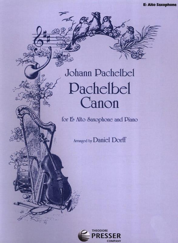 Pachelbel Canon - PACHELBEL - Partition - Saxophone - laflutedepan.com
