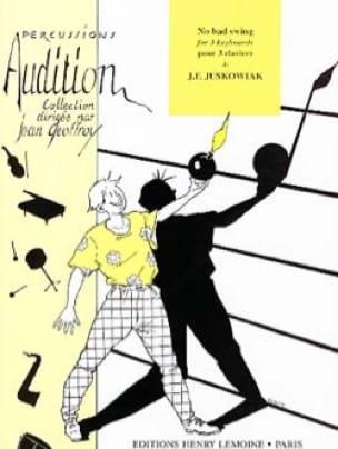 No Bad Swing - J.F. Juskowiak - Partition - laflutedepan.com