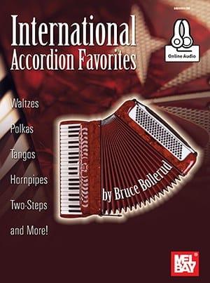 International Accordion Favorites, avec contenu audio téléchargeable - laflutedepan.com