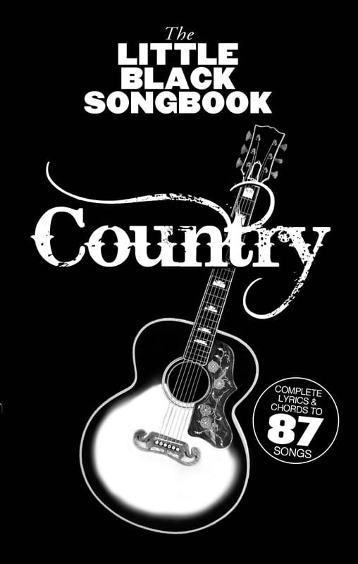 The Little Black Songbook - Country - Partition - laflutedepan.com