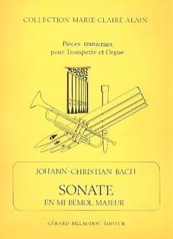 Sonate Mib Majeur Johann-Christian Bach Partition laflutedepan