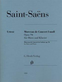 Morceau de Concert en Fa mineur opus 94 SAINT-SAËNS laflutedepan
