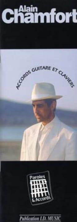 Paroles & Accords - Alain Chamfort - Partition - laflutedepan.com