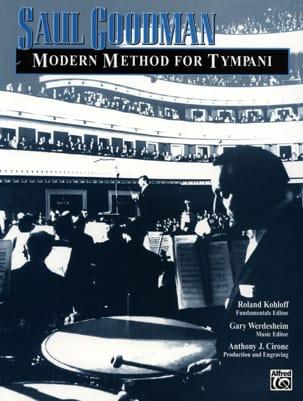Modern Method For Tympani Saul Goodman Partition laflutedepan