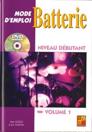 Mode D' Emploi Batterie Volume 1 laflutedepan