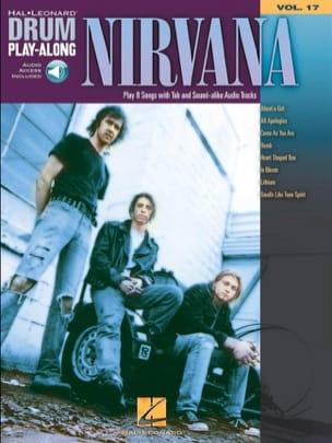 Drum play-along volume 17 Nirvana Partition Pop / Rock - laflutedepan