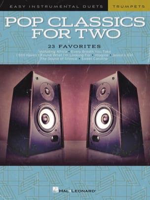 Pop Classics For Two - Trompettes Partition Trompette - laflutedepan