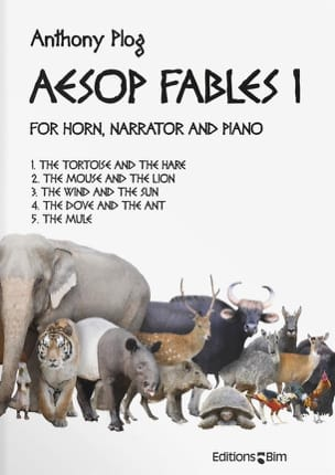 Aesop Fables I Anthony Plog Partition Cor - laflutedepan