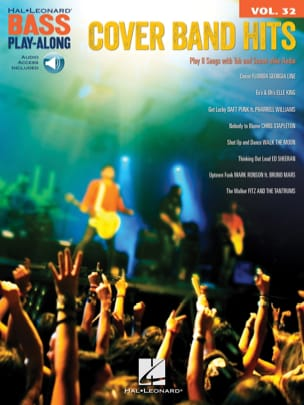 Bass Play-Along Volume 32 - Cover Band Hits Partition laflutedepan