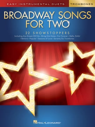 Broadway Songs for Two Trombones Partition Trombone - laflutedepan