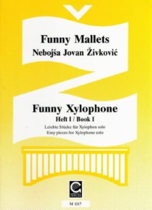 Funny Xylophone Volume 1 - Nebojsa jovan Zivkovic - laflutedepan.com