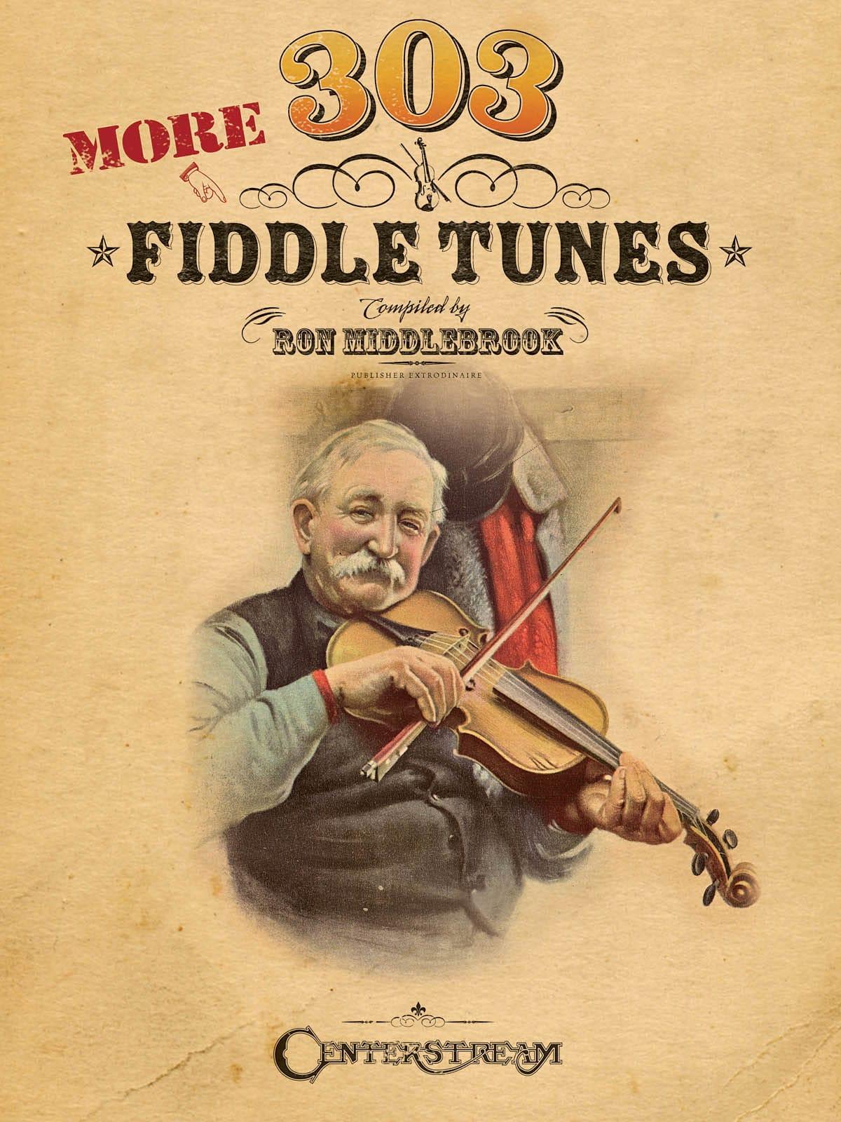 More 303 Fiddle Tunes - Ron Middlebrook - Partition - laflutedepan.com