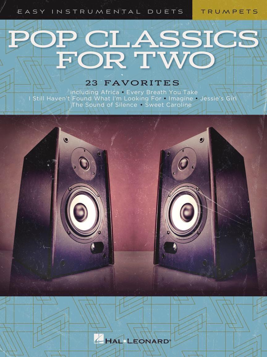 Pop Classics For Two - Trompettes - Partition - laflutedepan.com