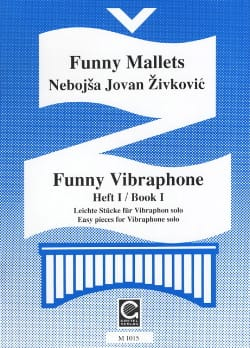 Funny Vibraphone Volume 1 Nebojsa jovan Zivkovic laflutedepan