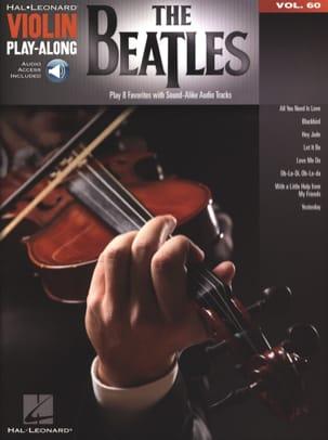 Violin Play-Along Volume 60 The Beatles BEATLES Partition laflutedepan