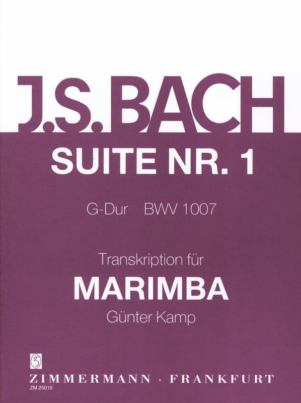 Suite N° 1 G-Dur BWV 1007 - BACH - Partition - laflutedepan.com