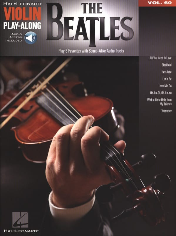 Violin Play-Along Volume 60 The Beatles - BEATLES - laflutedepan.com