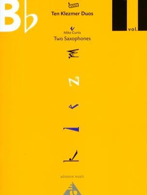 Ten Klezmer Duos Volume 1 Mike Curtis Partition laflutedepan