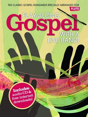 Play-Along Gospel With A Live Band Partition laflutedepan