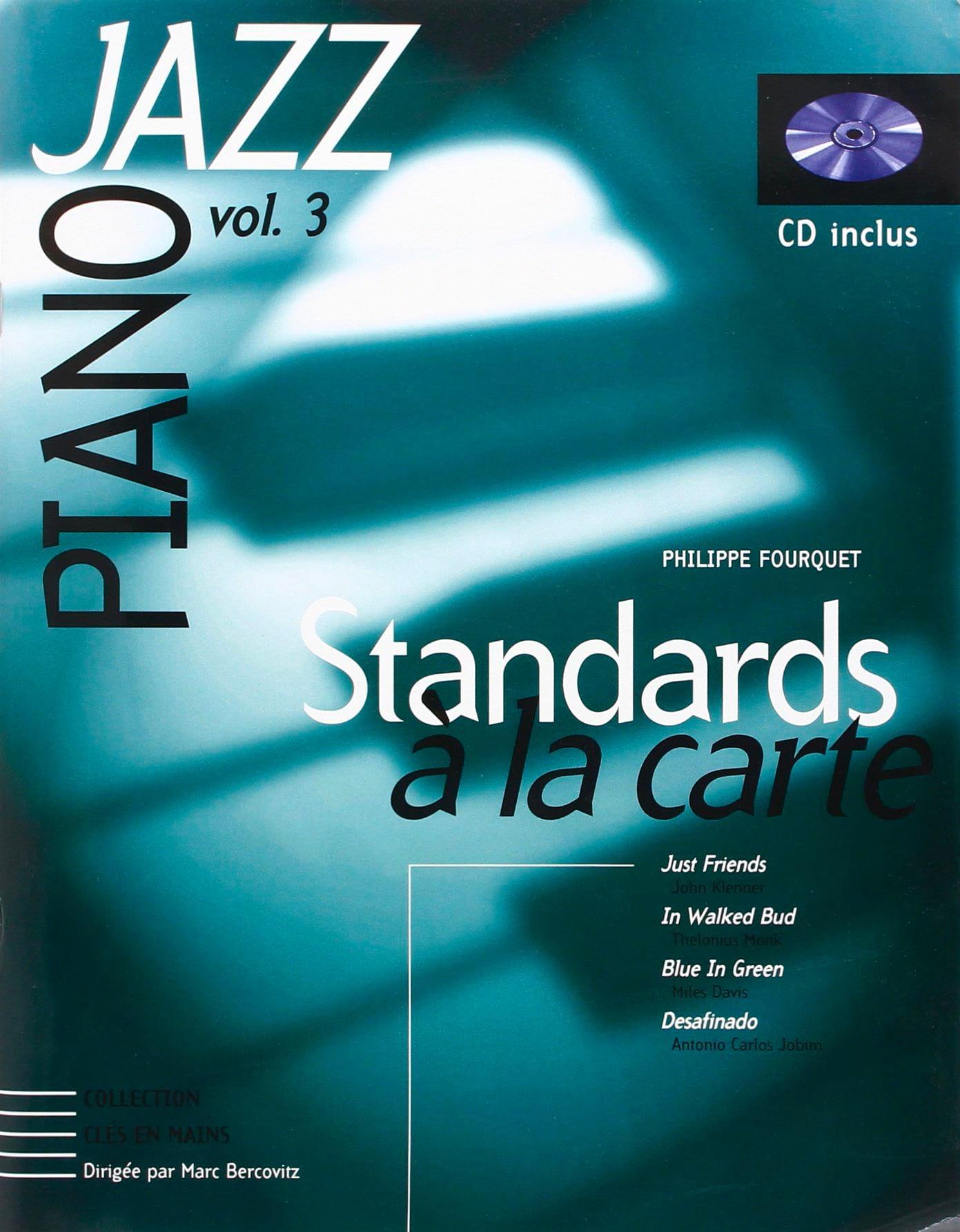 Standards A la Carte Volume 3 - Philippe Fourquet - laflutedepan.com