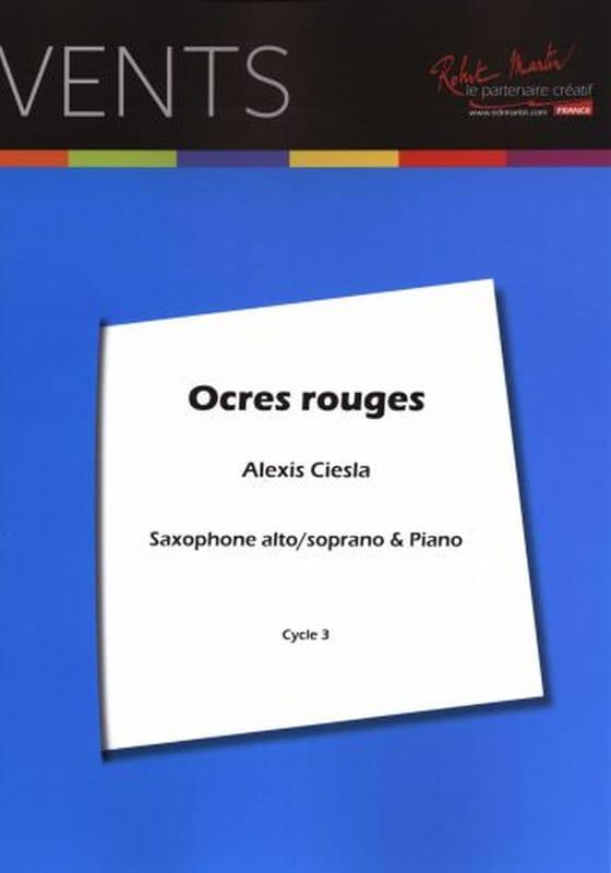 Ocres Rouges - Alexis Ciesla - Partition - laflutedepan.com