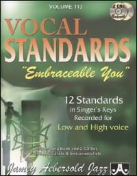 Volume 113 - Vocal Standards Embraceable You - Ballads For All Singers laflutedepan