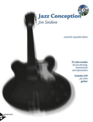 Jazz Conception - 21 Solos Etudes Jim Snidero Partition laflutedepan