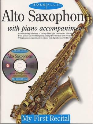 Solo Plus My First Recital Partition Saxophone - laflutedepan