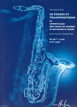 28 Etudes Et Transpositions Christophe Bois Partition laflutedepan