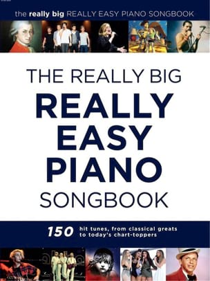 The Really Big Really Easy Piano Book Partition laflutedepan