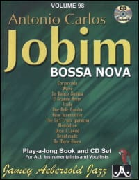 Volume 98 - Carlos Jobim METHODE AEBERSOLD Partition laflutedepan