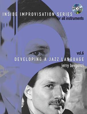 Volume 6 - Developing A Jazz Language Jerry Bergonzi laflutedepan