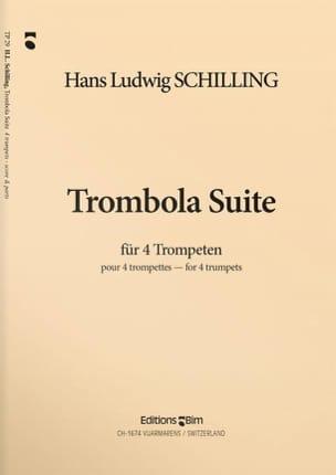 Trombola Suite Hans Ludwig Schilling Partition laflutedepan