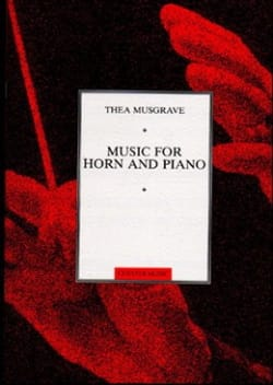 Music For Horn And Piano - Thea Musgrave - laflutedepan.com